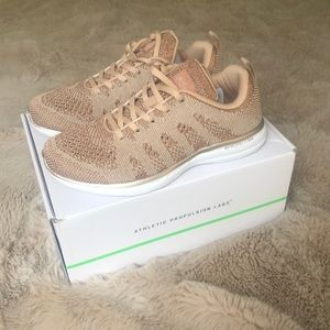 APL Rose Gold Sneakers NWT Size 8